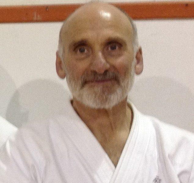 M° Vincenzo Tavino, cintura nera V Dan